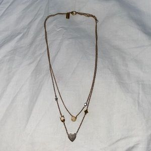 Coach Layered Necklace